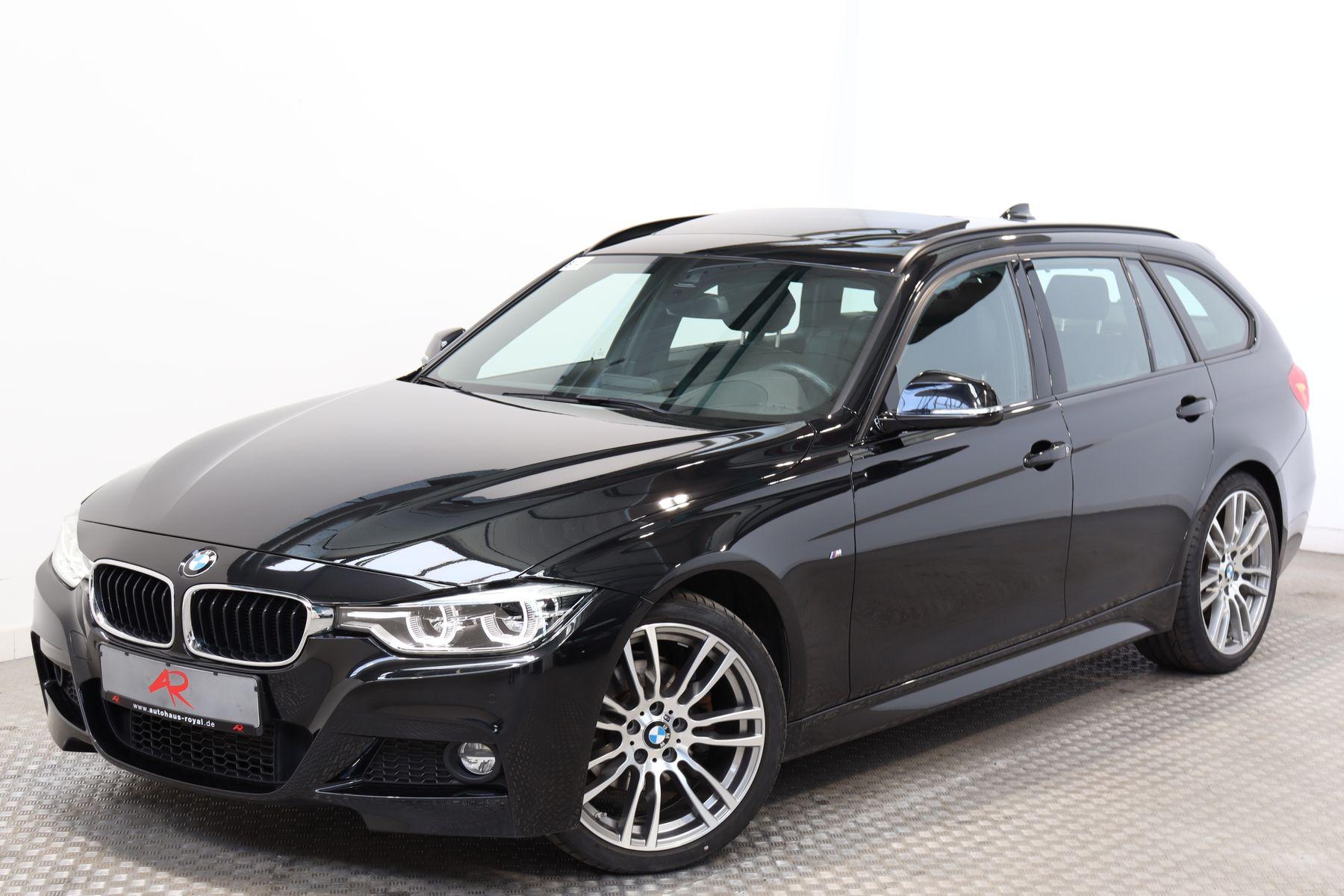 BMW 320 d T M SPORT HEADUP,LED,KEYLESS,LEDER,19ZOLL, Jahr 2016, Diesel
