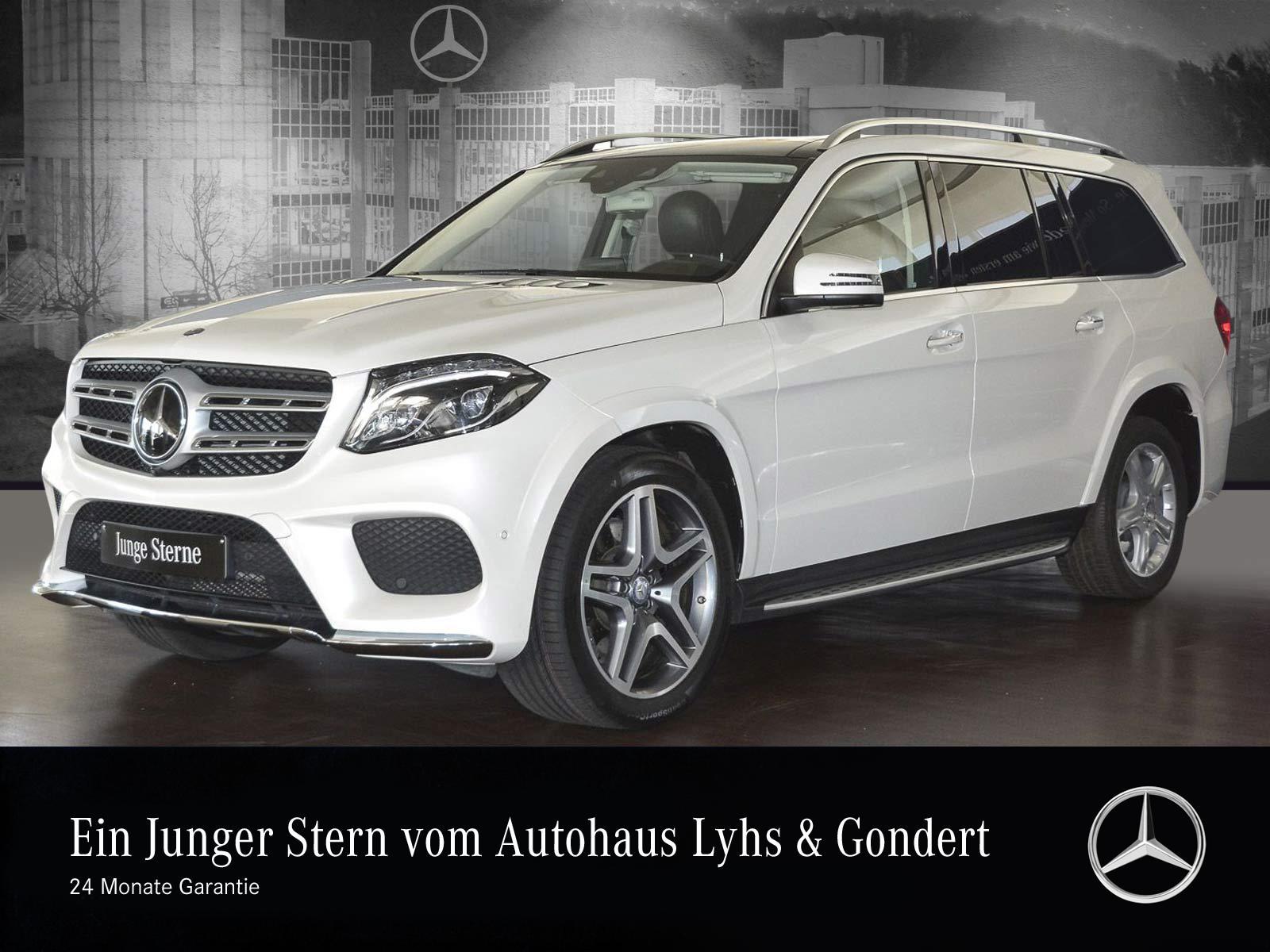 Mercedes-Benz GLS 500 4M AMG Harman Sitzklima Designo Comand, Jahr 2016, Benzin