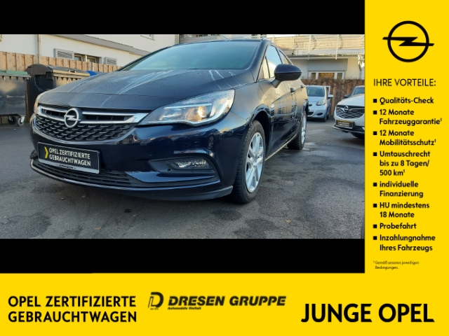 Opel Astra K Sports Tourer Business 1.0 Turbo KLIMA/INTELLILINK/SHZ/LHZ/PDC, Jahr 2018, Benzin