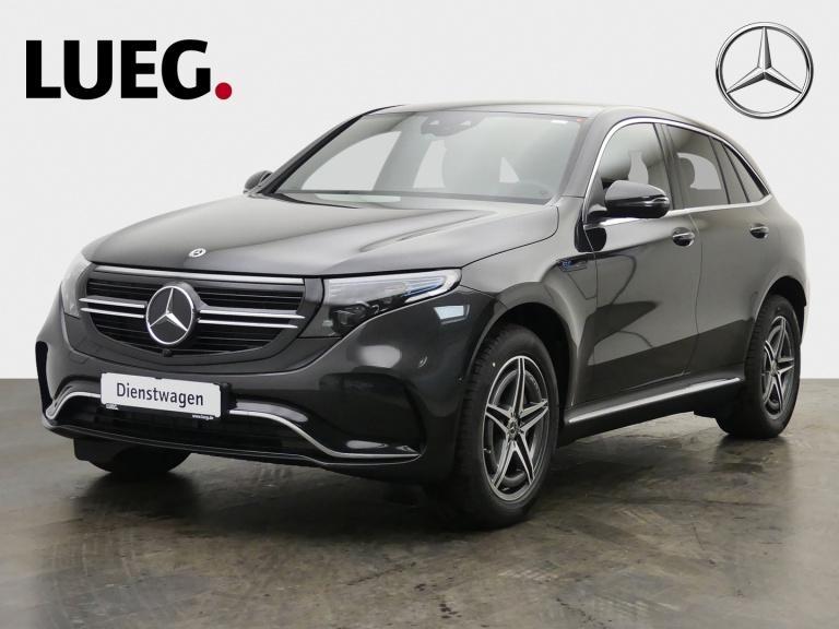 Mercedes-Benz EQC 400 4M AMG+AHK+360°+TOTW+WINTERRÄDER+LED+PTS, Jahr 2021, Elektro