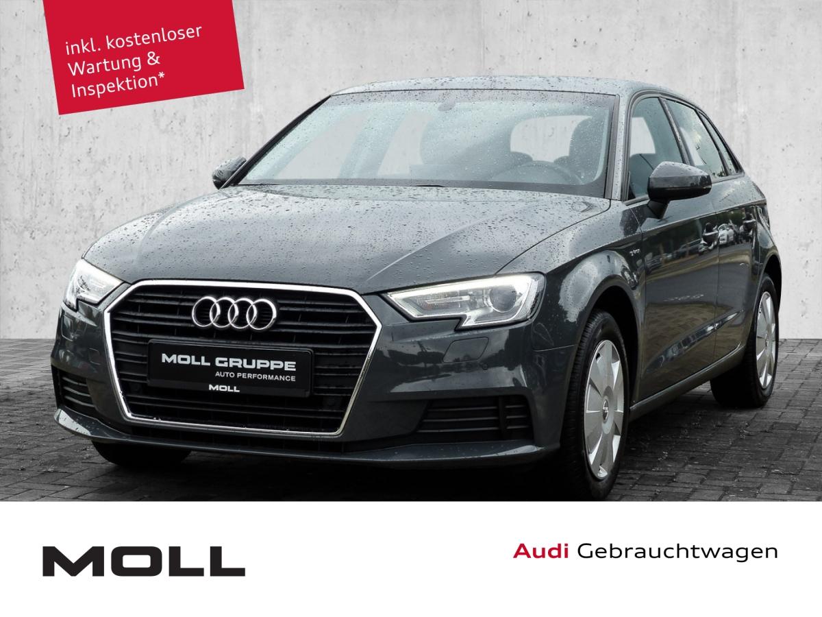 Audi A3 1.4 TSI Sportback g-tron Navi Automatik Lich, Jahr 2018, Gas