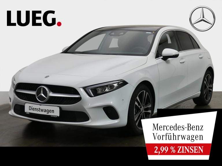Mercedes-Benz A 200 EDITION+PROGRESSIVE+PANO+SOUND+LED+KAMERA, Jahr 2020, Benzin