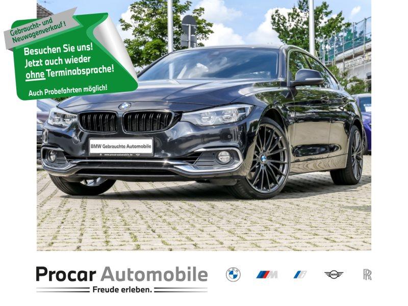 BMW 430d xDrive GRAN COUPE LUXURY LINE NAVI PROF AUT. RFK, Jahr 2017, Diesel