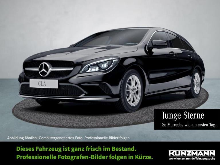 Mercedes-Benz CLA 200 d SB Navi Totwinkel ParkP KeylessGo LED, Jahr 2017, Diesel