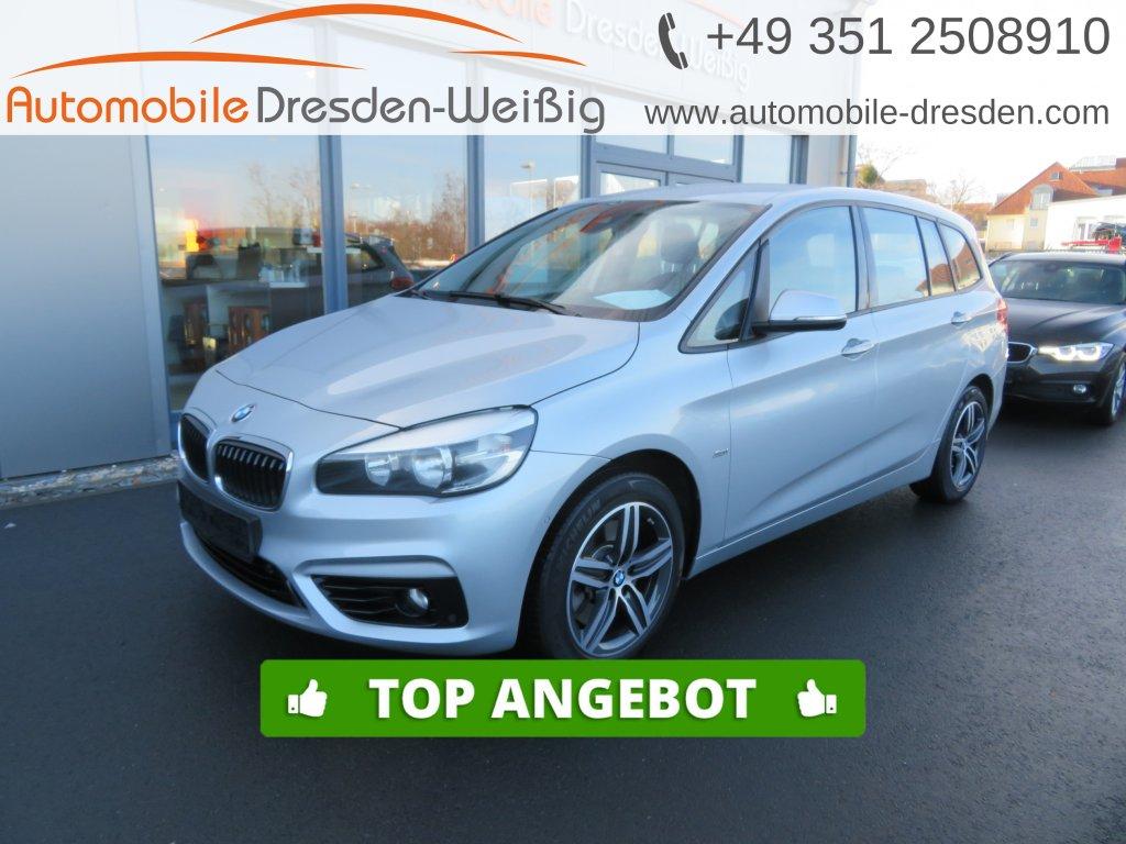 BMW 220 Gran Tourer d xDrive Sport Line*Navi*HeadUp*, Jahr 2017, Diesel
