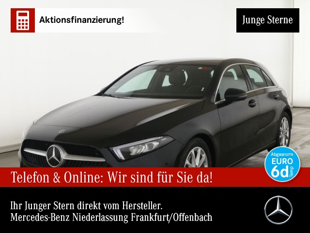 Mercedes-Benz A 200 d Progressive Navi Premium LED Spurhalt-Ass, Jahr 2020, Diesel