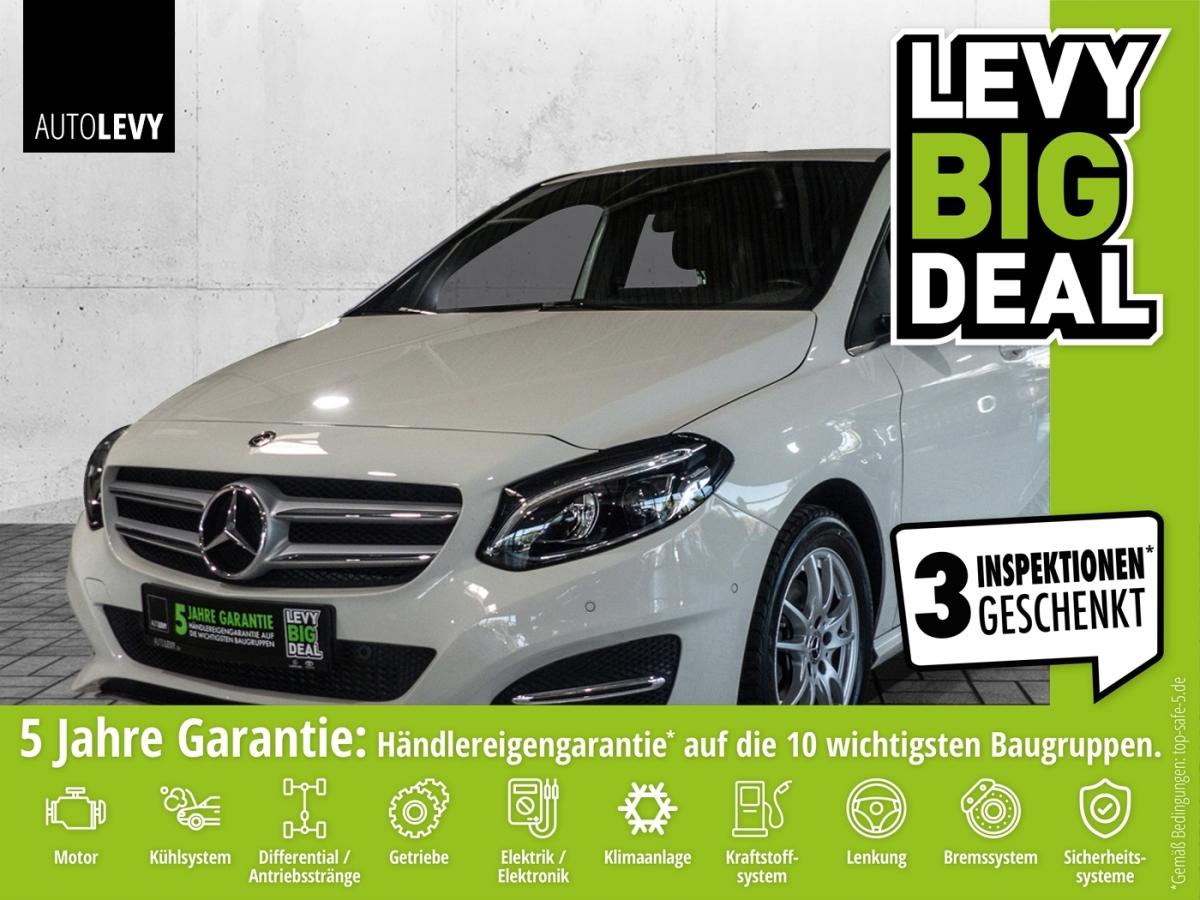 Mercedes-Benz B 200 Urban *Tempomat*PDC*Spurhalt*Klima*, Jahr 2017, Benzin