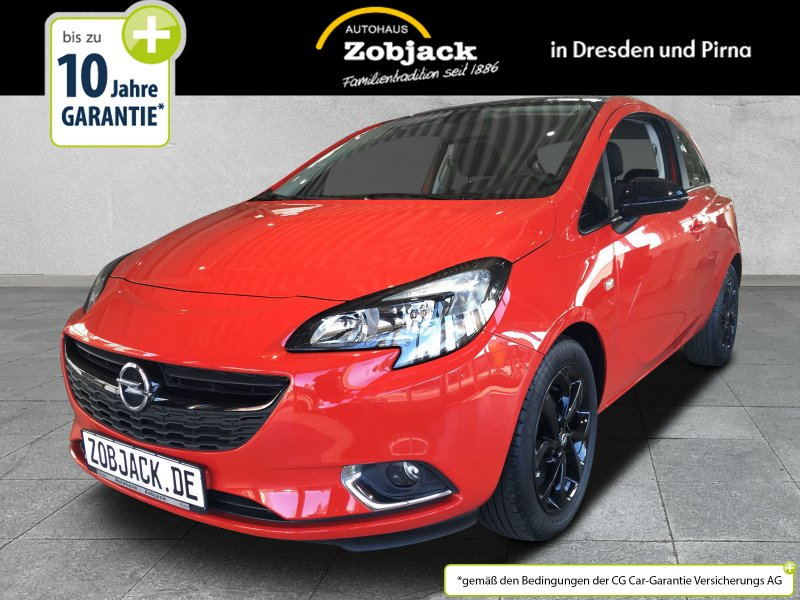 opel corsa-e 1.4 color edition 3-trg. klima,multimedia, jahr 2017, benzin