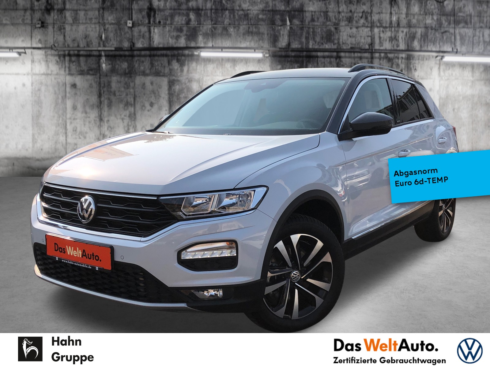 Volkswagen T-Roc United 2.0TDI DSG ACC ActiveInfo Navi Sitzh, Jahr 2020, Diesel