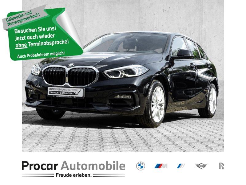 BMW 118i SPORTLINE+SHR+LIVE+NAVI+PDC+LED, Jahr 2020, Benzin