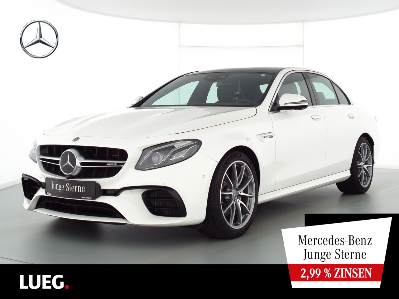 Mercedes-Benz E 63 AMG 4M+ COM+Pano+Mbeam+DistrP+Wide+RIDE+360, Jahr 2020, Benzin