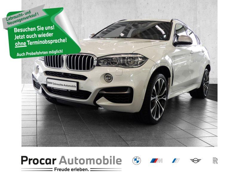 BMW X6 M50d M SPORT+NAVI PROF+HUD+GLASDACH+RFK+HARMKARD+DRIVE ASSISTPLUS, Jahr 2018, Diesel
