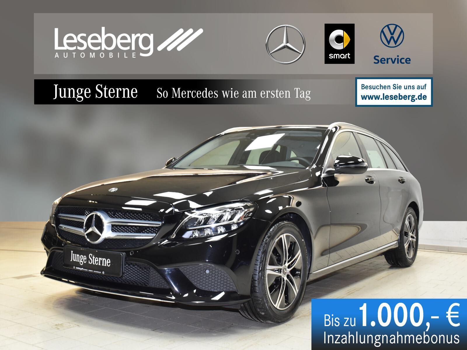Mercedes-Benz C 180 T Avantgarde/Navi/Kamera/LED/9G/Spur/Totw., Jahr 2020, Benzin