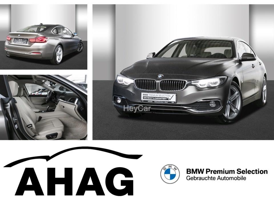 BMW 420 Gran Coupe D Aut. Luxury Frozen LED 379Euro Leas, Jahr 2020, Diesel