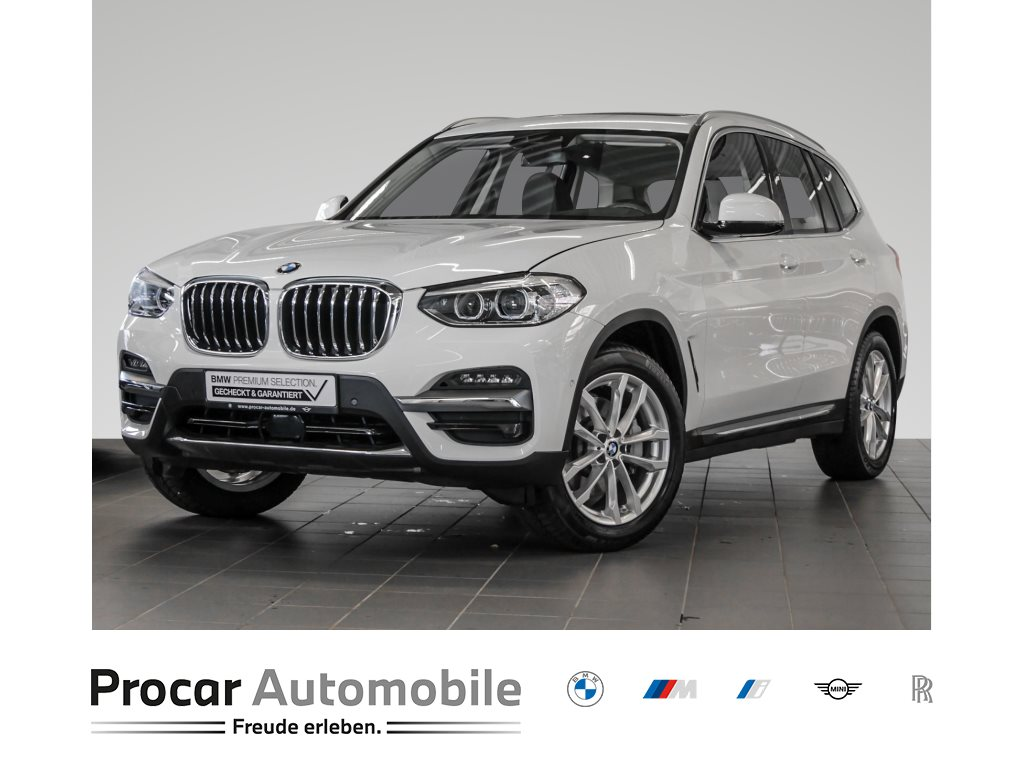 BMW X3 xDrive30d AHK HuD Pano LED HiFi Leas. ab 495€, Jahr 2020, Diesel