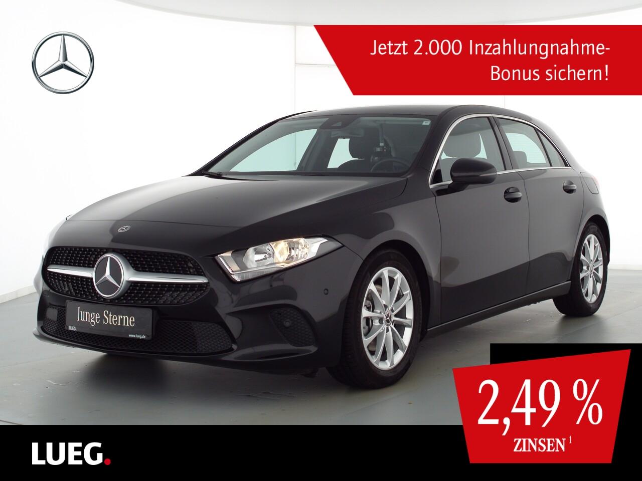 Mercedes-Benz A 200 Progressive+MBUX+NavPrem+SHZ+ParkAssistent, Jahr 2020, Benzin