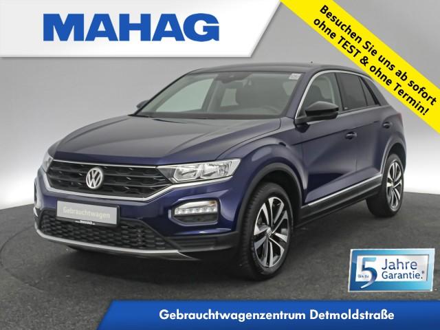 Volkswagen T-ROC UNITED 2.0 TDI Navi eKlappe AppConnect Sprachbed. Bluetooth 17Zoll DSG, Jahr 2020, Diesel
