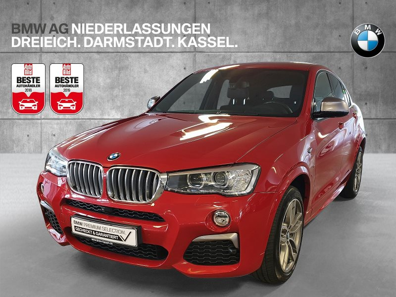 BMW X4 M40i Sportpaket Head-Up Dyn. Dämpfer Xenon, Jahr 2017, Benzin