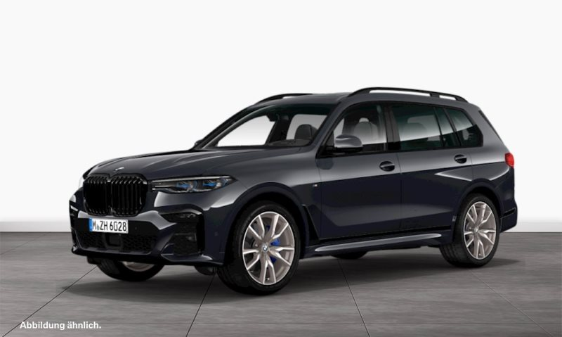 BMW X7 M50i Gestiksteuerung B&W Surround Head-Up, Jahr 2019, petrol
