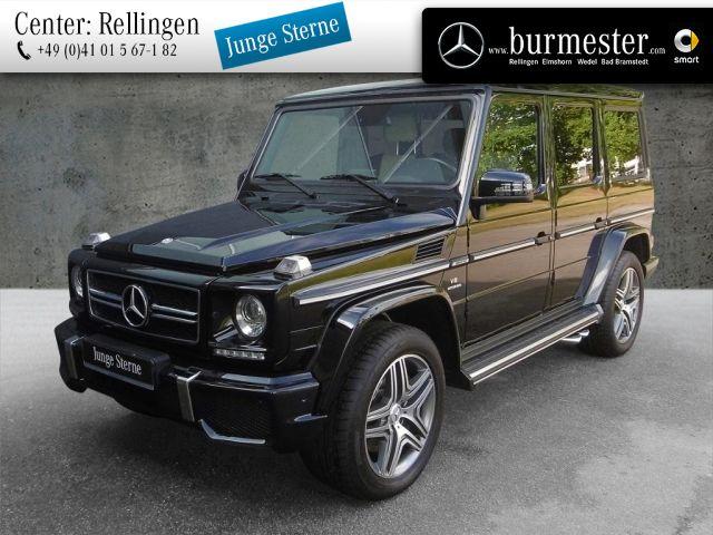 Mercedes-Benz G 63 AMG Station-Wagen lang Designo+Harman, Jahr 2014, petrol
