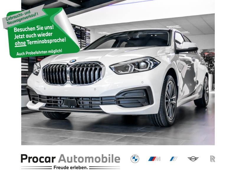 BMW 118i /5 Advantage DAB LED WLAN Tempomat Shz PDC, Jahr 2021, Benzin