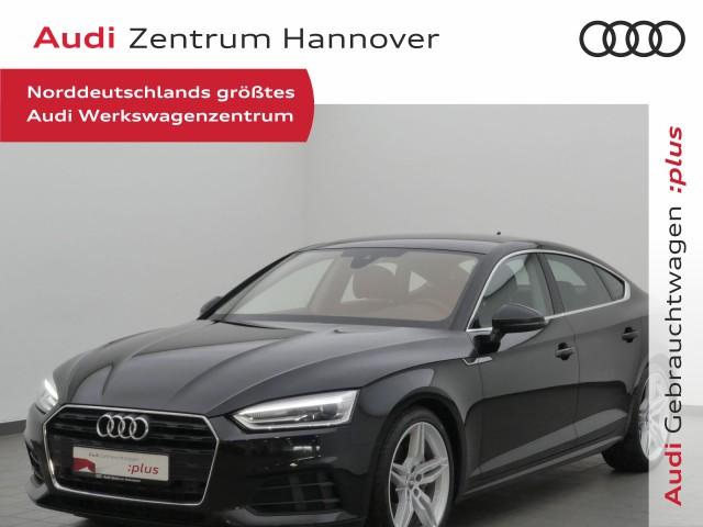 Audi A5 Sportback 2.0 TDI AHK+Xenon+Leder+DAB+Navi, Jahr 2018, Diesel