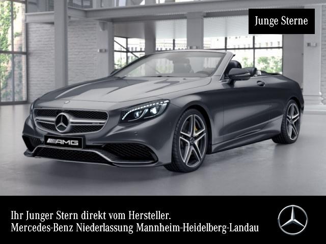 "Mercedes-Benz S 63 AMG 4M Cabrio Keramik TV Carbon 20"" NP 242, Jahr 2016, petrol"