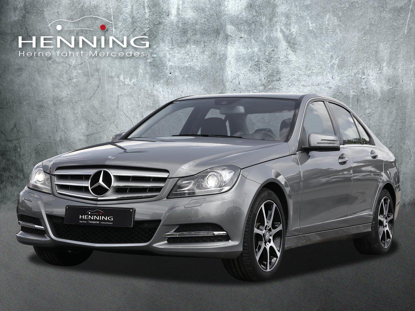 Mercedes-Benz C 180 CGI -Avantgarde-Automatik-Navi-PTS-SHZ-, Jahr 2013, Benzin