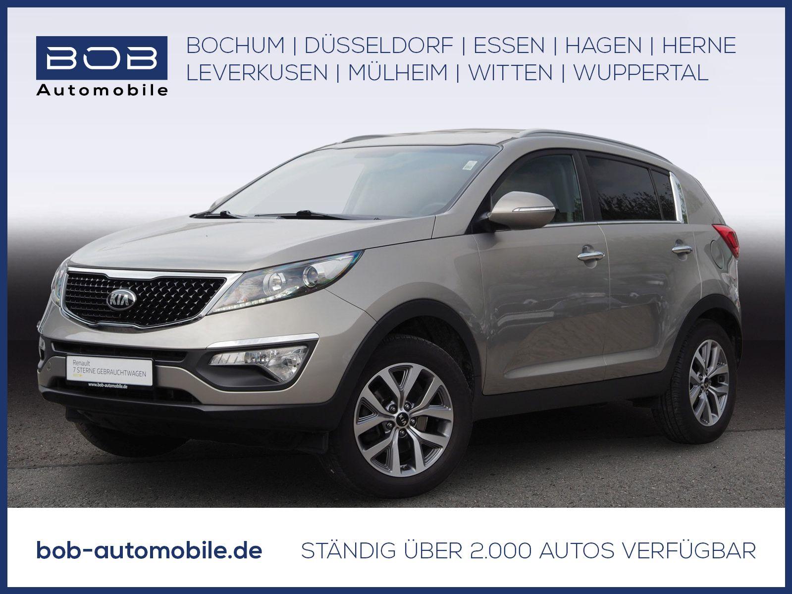 Kia Sportage Vision 1.6 GDI 2WD NAVI PDC KLIMA BT ZV, Jahr 2015, Benzin