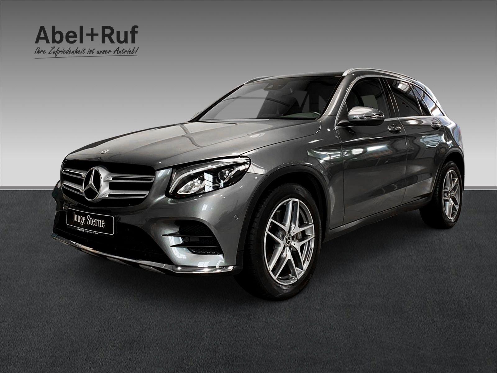 Mercedes-Benz GLC 300 4M+AMG+COMAND+Pano+StHZ+SHZ+LED+19, Jahr 2018, Benzin