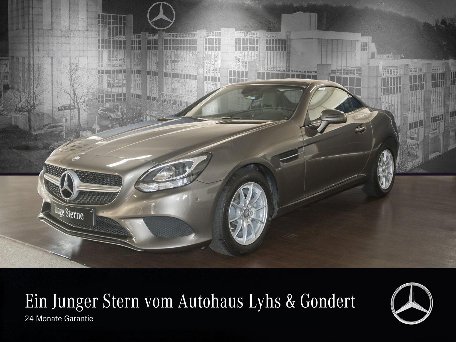 Mercedes-Benz SLC 180 Navi, Jahr 2016, petrol
