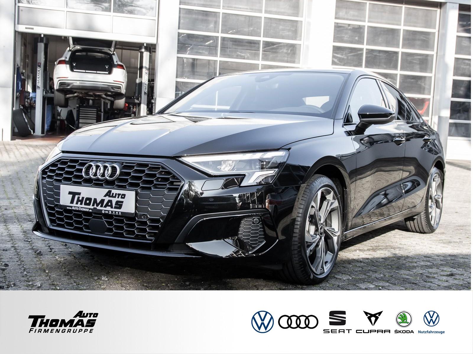 Audi A3 Limousine advan. 30 TFSI+SMART INTER+LED+EPH, Jahr 2020, Benzin