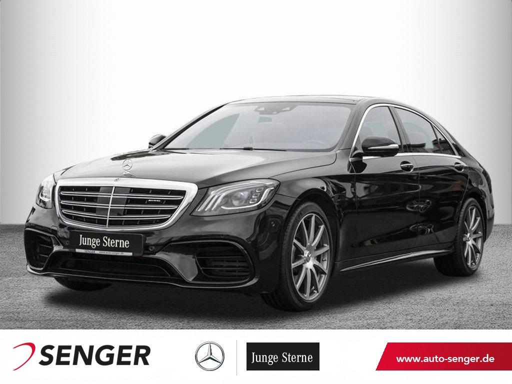 Mercedes-Benz S 63 AMG 4M+ lang *Standheizung*DriverŽs*Head-up, Jahr 2017, Benzin