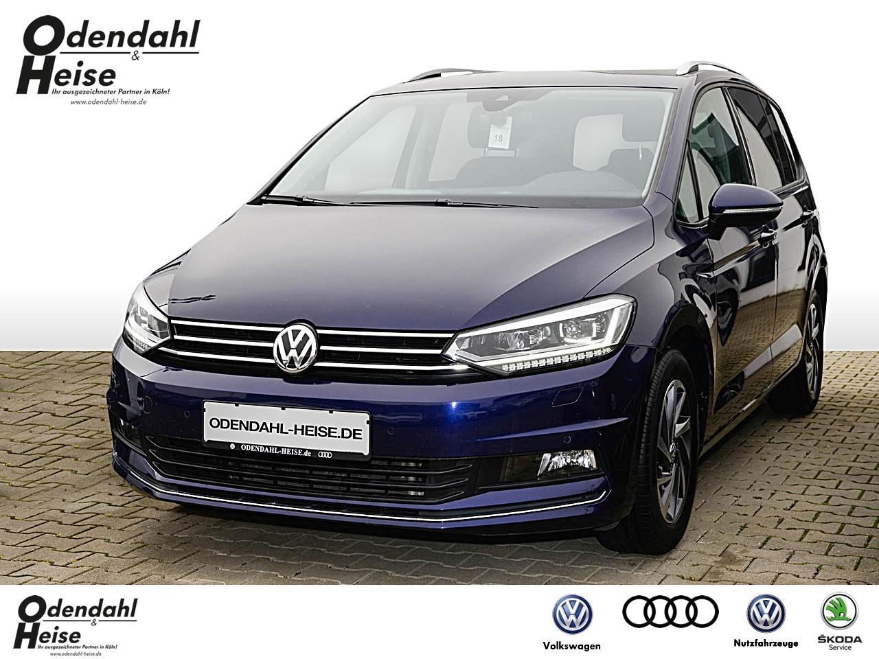 Volkswagen Touran SOUND 2,0 l TDI SCR EU6 Klima Navi, Jahr 2017, Diesel