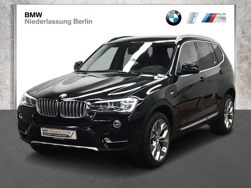 BMW X3 xDrive20d EU6 Aut. Leder Xenon Navi Prof. GSD, Jahr 2017, Diesel