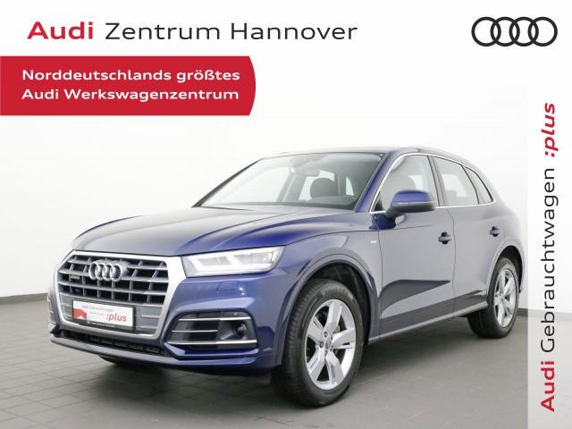 Audi Q5 40 TDI qu. sport, S-line Sel., Pano, AHK, LED,ACC, Navi, Jahr 2020, Diesel