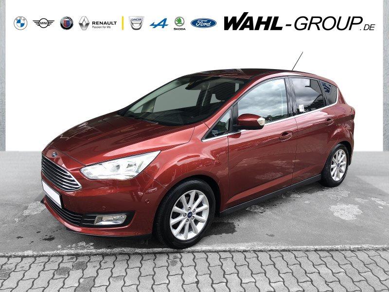 Ford C-Max Titanium*AHK*NAVI*PDC-KAMERA*8-FACH-ALU*, Jahr 2016, Benzin