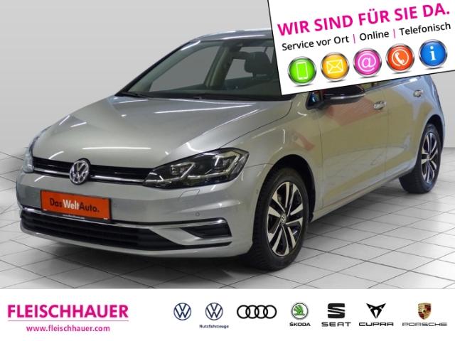 Volkswagen Golf VII IQ.DRIVE 1.5 TSI Navi+LED+connect+PDC+SHZ+ACC, Jahr 2019, Benzin
