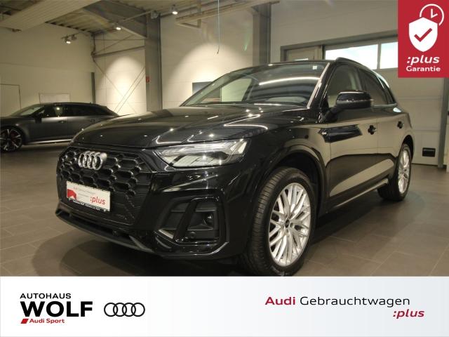 Audi Q5 40 TDI quattro S line S tronic Matrix LED AHK, Jahr 2020, Diesel