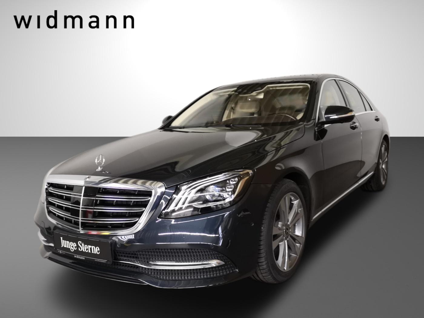 Mercedes-Benz S 400 d 4M Burmester*HeadUp*Sitzklima*AHK*Comand, Jahr 2019, Diesel