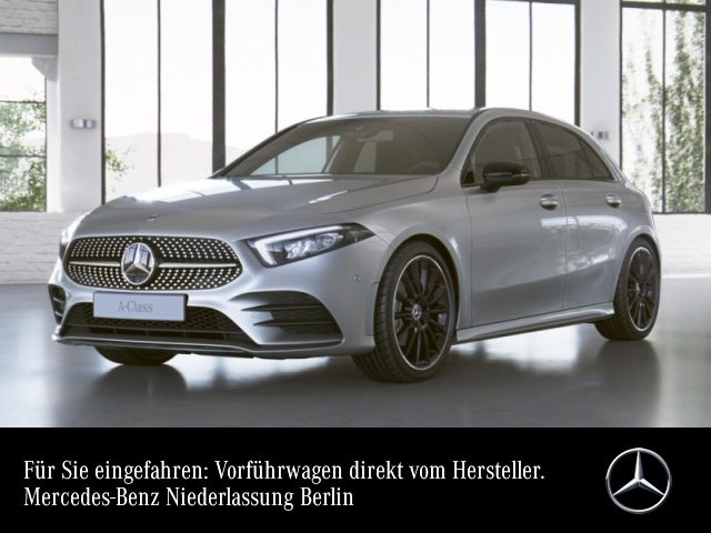 "Mercedes-Benz A 200 AMG+Night+LED+Kamera+19""+Totw+7G, Jahr 2021, petrol"