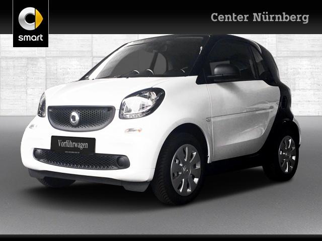 smart fortwo coupé 66kW cool&Audio SHZ Komfort Tempom, Jahr 2019, Benzin