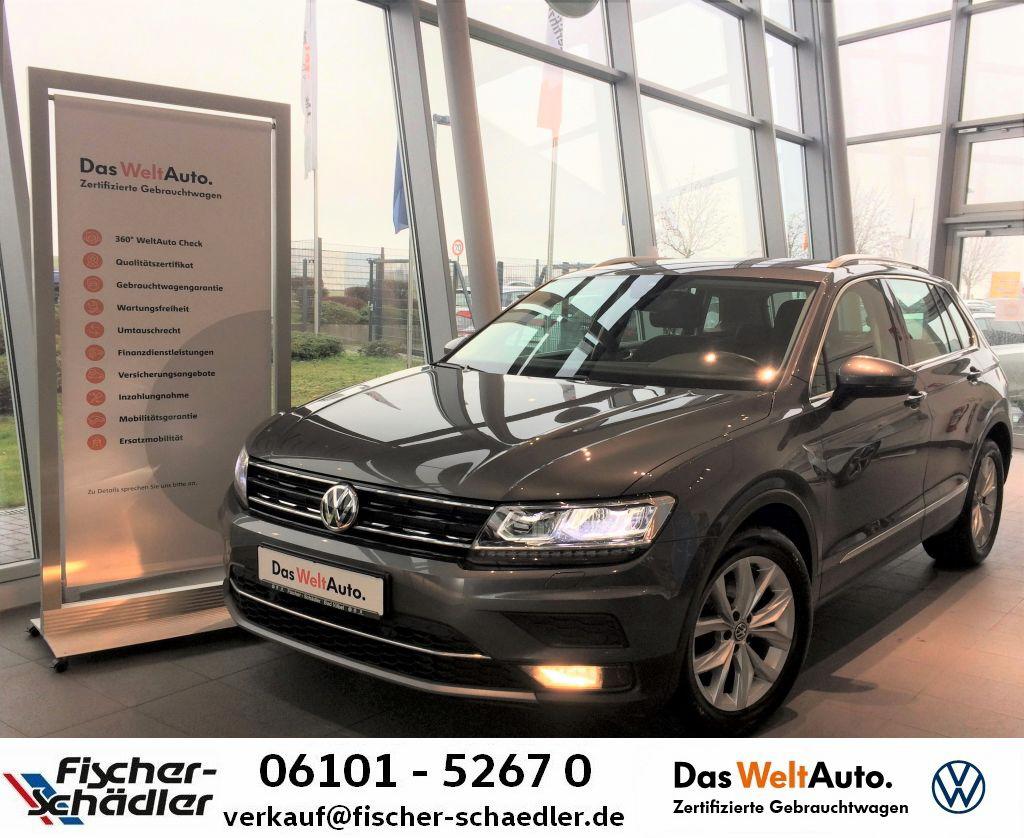 Volkswagen Tiguan Highline 2.0TDI*LED*Navi*ActiveInfo*Assis, Jahr 2018, Diesel