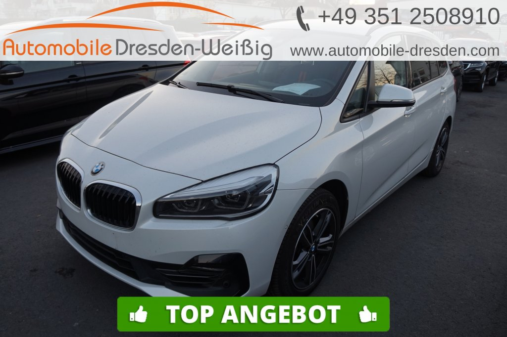 BMW 216 Gran Tourer i Sport Line*Navi Plus*HeadUp*, Jahr 2018, Benzin