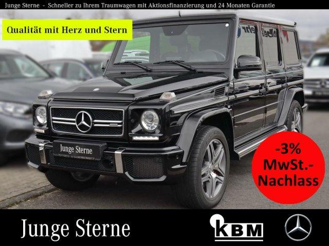Mercedes-Benz G 63 AMG °EXCLUSIV-P°AHK°COMAND°SOUND°SHD°DISTR°, Jahr 2015, Benzin