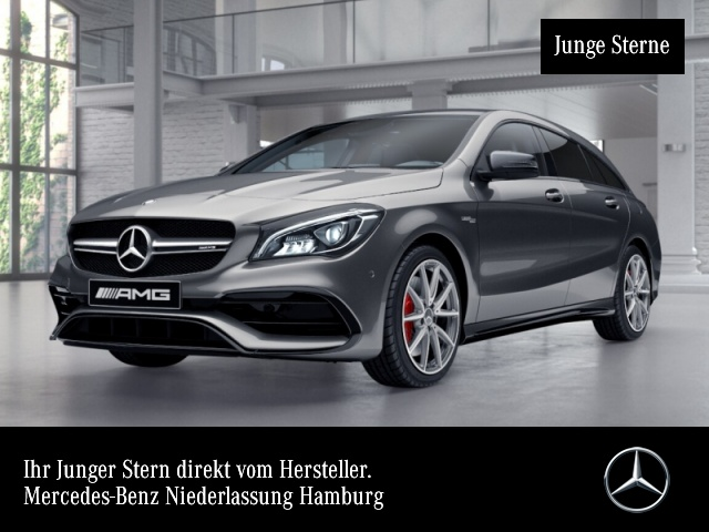 Mercedes-Benz CLA 45 4MATIC Shooting Brake Sportpaket Bluetooth, Jahr 2018, Benzin