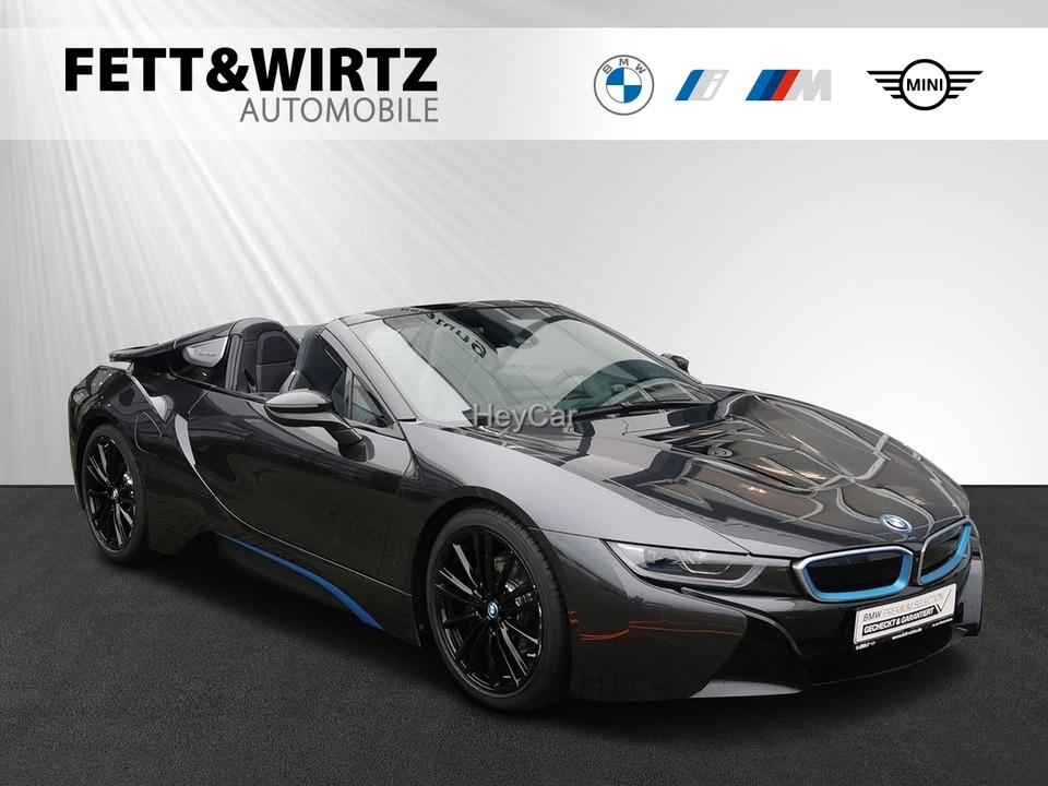 BMW i8 Roadster Laser HUD Leas. ab 1.519,- br.o.Anz., Jahr 2020, Hybrid