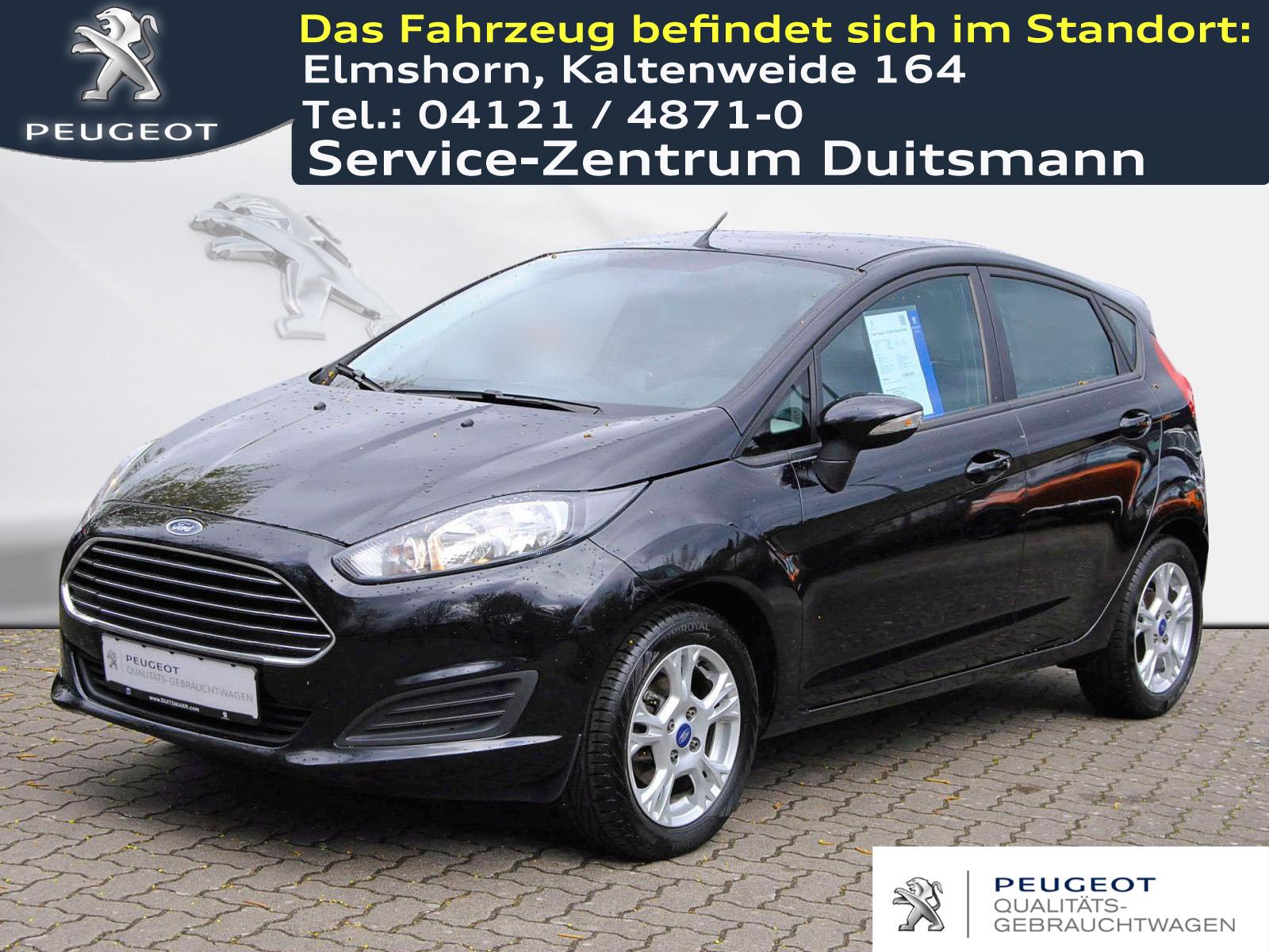 Ford Fiesta 1.0 Start-Stop Trend, Jahr 2013, Benzin
