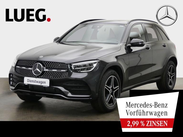 Mercedes-Benz GLC 300 d 4M AMG+NIGHT+19''+ASSIS-P+PANO+AHK+KAM, Jahr 2020, Diesel