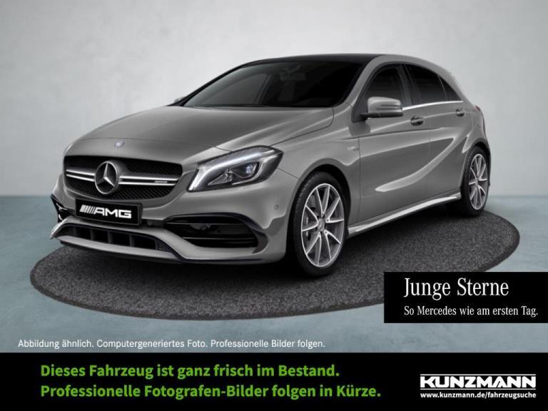 Mercedes-Benz A 45 AMG 4M Comand LED PanoramaSD ParkP SpiegelP, Jahr 2016, Benzin